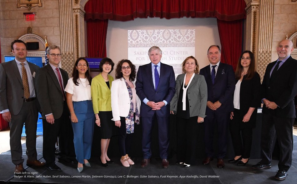 Sakip Sabanci Center for Turkish Studies inaugurated at Columbia University, New York.  The first center and chair for Turkish Studies in the United States named for its benefactor late Sakip Sabanci; a businessman, philanthropist; inaugurated at Columbia University, forging a new era of scholarly collaborations between the two countries. (PRNewsfoto/Sabanci University)