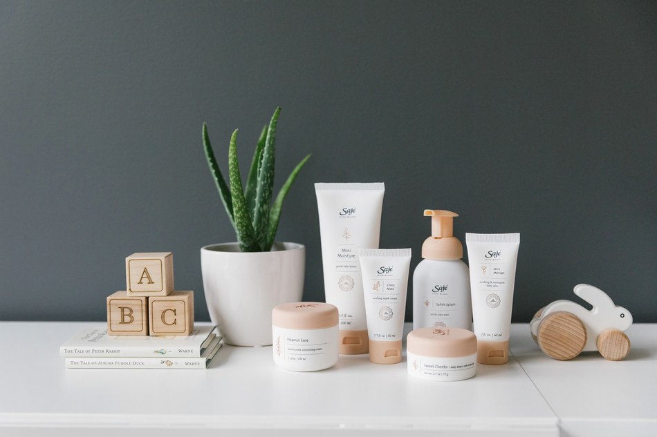 Nurture with Nature: Saje Natural Wellness new lineup of 100% Natural Baby and Maternity Care Products