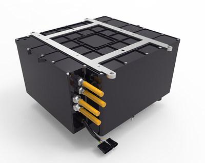L'assemblage de piles à combustible pour véhicule HYMOD®-300 de Sunrise Power.