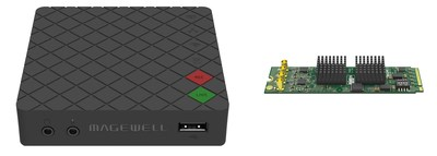 Magewell will showcase its Ultra Stream HDMI hardware encoder and Eco Capture Quad SDI M.2 capture cards alongside other innovations at InfoComm 2018.