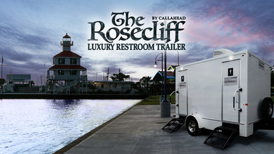 Rosecliff Luxury Restroom Trailer by Callahead