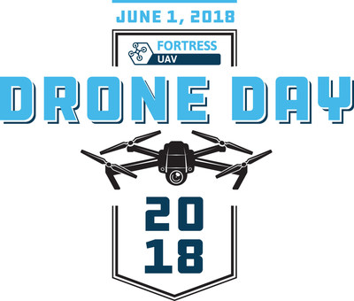 Fortress UAV Drone Day June 1st, 2018 Logo