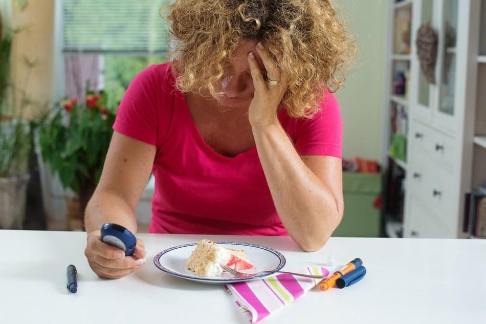 Female with Diabetes and Depression (PRNewsfoto/Ieso Digital Health)