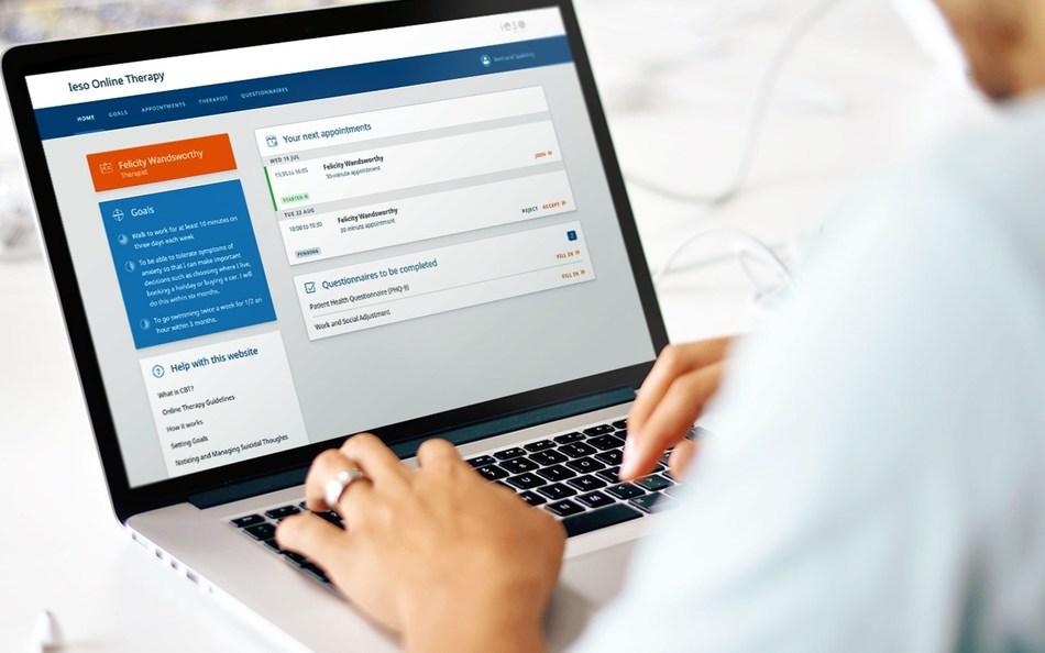 Ieso Patient Online Therapy (PRNewsfoto/Ieso Digital Health)