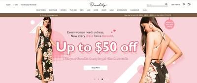 Dresslily website screenshot
