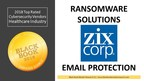 Zix Corp Ranks Top in Ransomware & Email Protection, 2018 Black Book Market Research User Survey