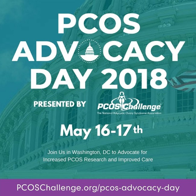 PCOS Advocacy Day Presented by PCOS Challenge: The National Polycystic Ovary Syndrome Association