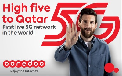 Ooredoo First In The World to Launch 5G Commercial Network