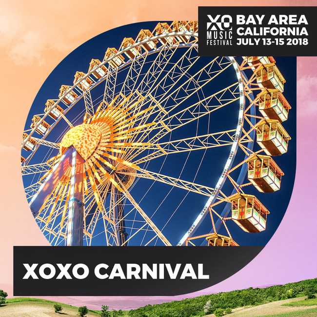 XO Music Festival - July 13th - 15th 2018 - Antioch, California - XO Festival Carnival Rides