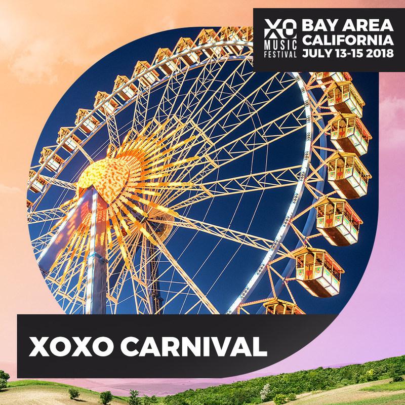 XO Music Festival - July 13th - 15th 2018 - Antioch, California - XO Festival Carnival Rides