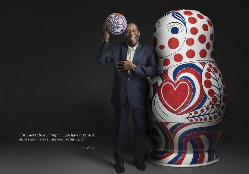 Hublot Ambassador Pelé - Champion advice (PRNewsfoto/Hublot)