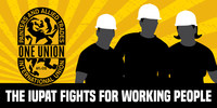 The International Union of Painters of Allied Trades District Council 91 Urges Governor of Tennessee to Veto State Bill Expanding Policing of Immigrant Workers (PRNewsfoto/International Union of Painters)