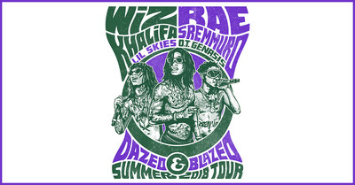 Wiz Khalifa And Rae Sremmurd Announce Co-Headline Dazed & Blazed Summer 2018 Amphitheater Tour