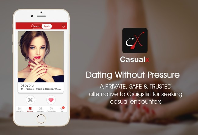 Casualx, a Craigslist Personals Alternative App, Saw Traffic