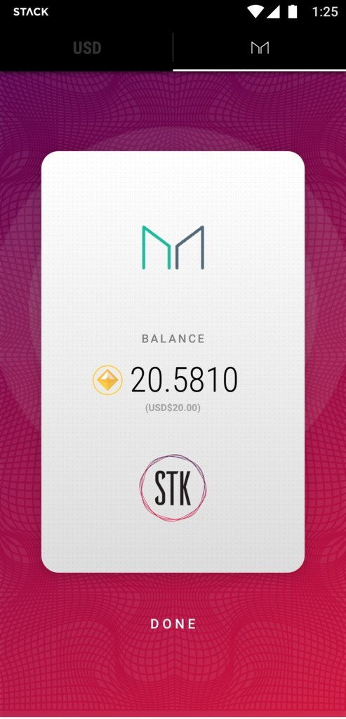 The STK platform will enable transactions made with the Dai Stablecoin straight from your smartphone. (CNW Group/STK Global Payments)