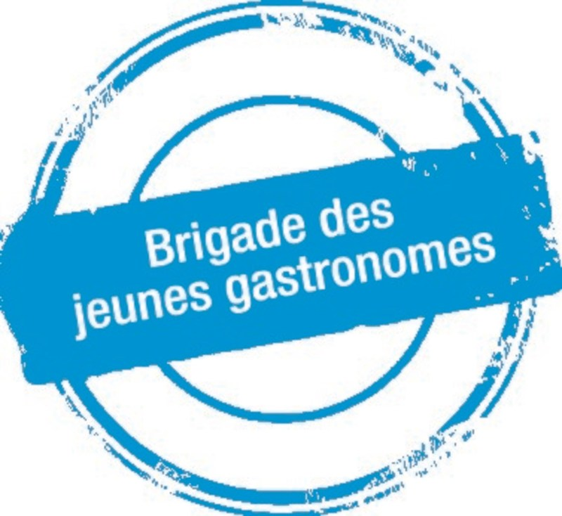 Logo : Brigade des jeunes gastronomes (Groupe CNW/Fondation de l'ITHQ)
