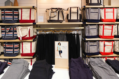 The new Lands' End store in Burlington features the iconic canvas tote and other heritage products.