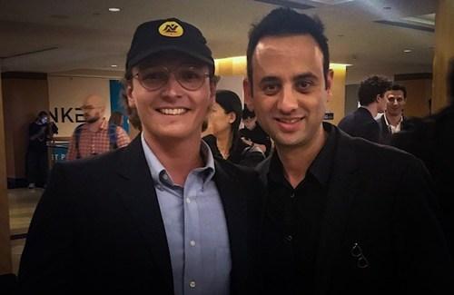 NLC2 member Drew Graham with Ran NeuNer the CNBC Cryptotrader host.