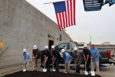 Able Electropolishing breaks ground on new addition to production facility.