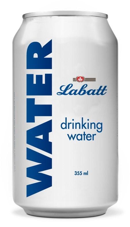 Labatt Drinking Water (CNW Group/Labatt Breweries of Canada)