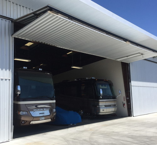 Monstore Garages Brings New Solution in RV Storage to Palm Springs This Summer