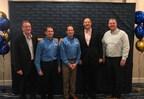 Left to right: Lee Maher President - GPC/APG, David T. Segal - President Sanel NAPA, Bobby Segal - CEO Sanel NAPA, Todd McMurtrie - Senior Vice President GPC/APG, Gregg Sargent - Vice President Eastern Division GPC/APG