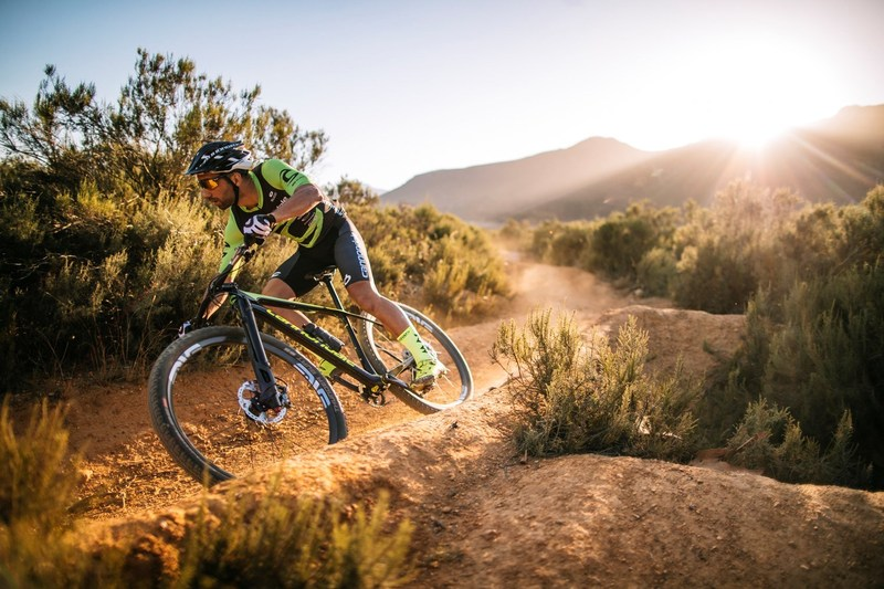 Cannondale F-Si with the new Lefty Ocho suspension fork