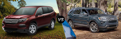 Hudson Honda has published a web page that is designed to help shoppers find the vehicle that is right for them. This web page compares the features of the Honda Pilot and the Ford Explorer. Shoppers can learn more by visiting the dealership website.