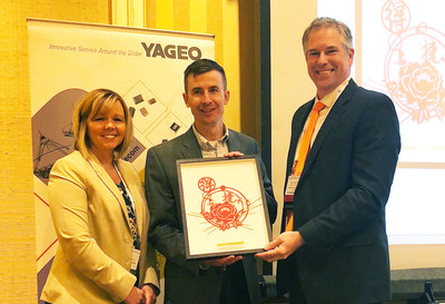 Yageo Presents Digi-Key with Global Distributor of the Year Award – North America