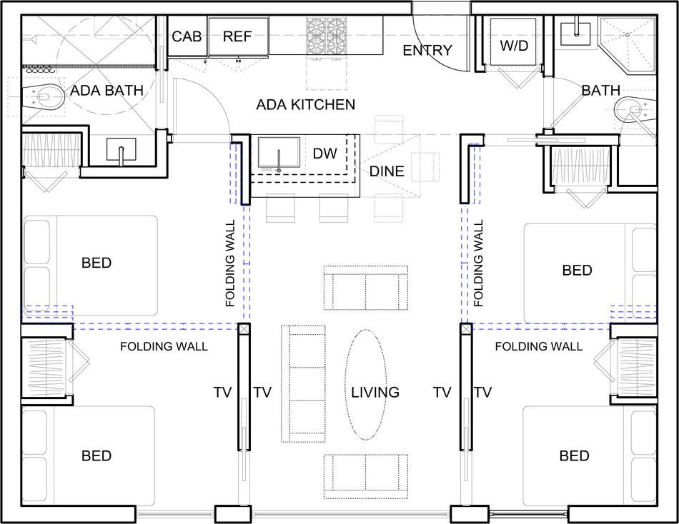 MacroUnit 2.0 Conceptual Floorplan