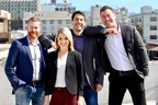The oWow Team from left to right: Jeremy Harris, Architectural Director, Kaylin Neisinger, Property Management Director, Alon Gutman, Co-Founder and CTO, and Danny Haber, Co-Founder and CEO