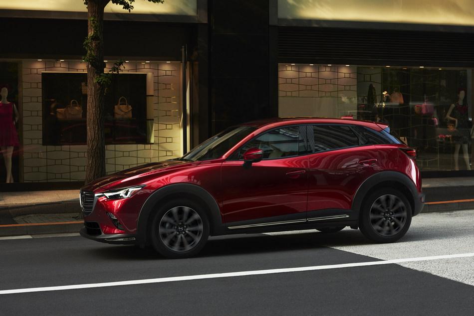 Le Mazda CX-3 2019 (Groupe CNW/Mazda Canada Inc.)