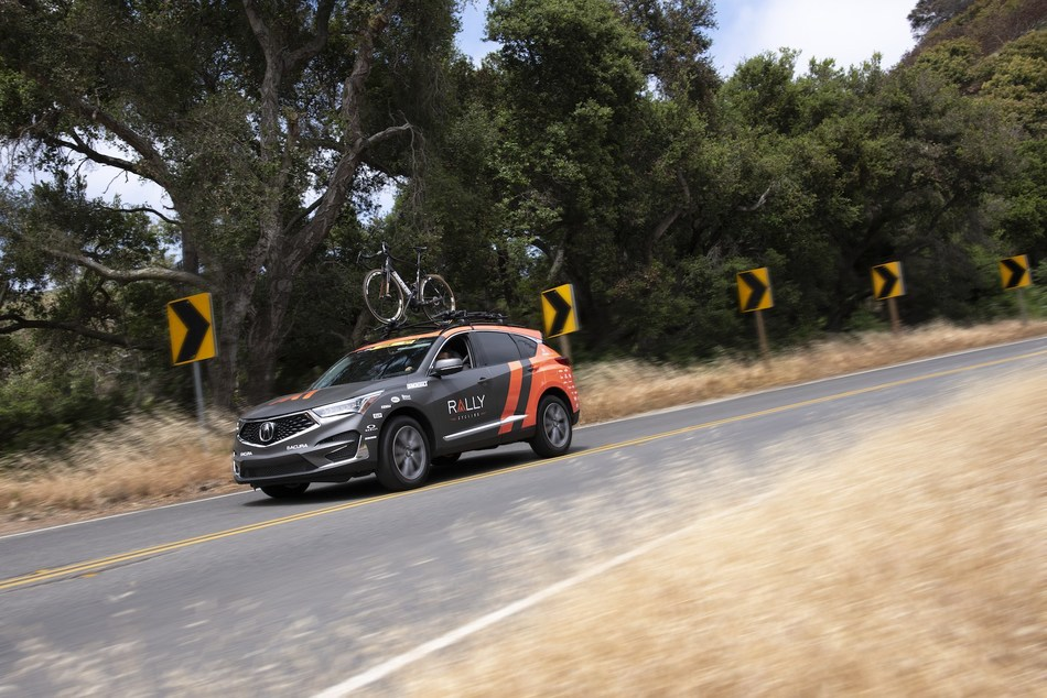 All-new 2019 Acura RDX Makes Road Debut as Official Vehicle of Rally Cycling Alongside NSX Supercar