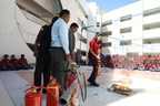 Fire safety drills at Orchids The International School (PRNewsfoto/Orchids The International School)
