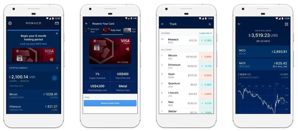Monaco Launches Wallet App to Bring Cryptocurrency to Every Wallet (PRNewsfoto/Monaco)