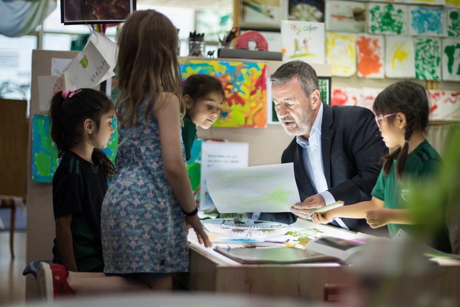 John Smithies, Elementary School Principal at the American School of Bombay, India (PRNewsfoto/The American School of Bombay)