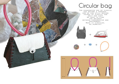 Circular Bag, Camino H. Allende, Spain