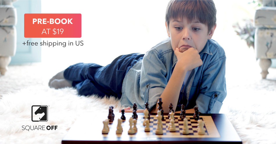 Play online against anyone across the globe or challenge the AI and see the opponent's piece move on its own (PRNewsfoto/Infivention Technologies Pvt Ltd)