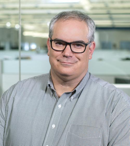 David Adams, new chief financial officer at Endeavor Robotics.