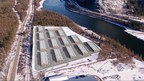 Aerial Illustration of Option Co Mission, BC location (CNW Group/Invictus MD Strategies)