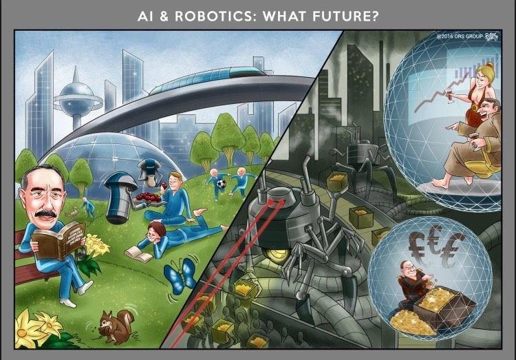 Utopian/Dystopian future? (PRNewsfoto/ORS GROUP)