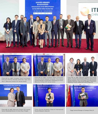 Announcement of the Official Partners for the 2018 EU-China Tourism Year