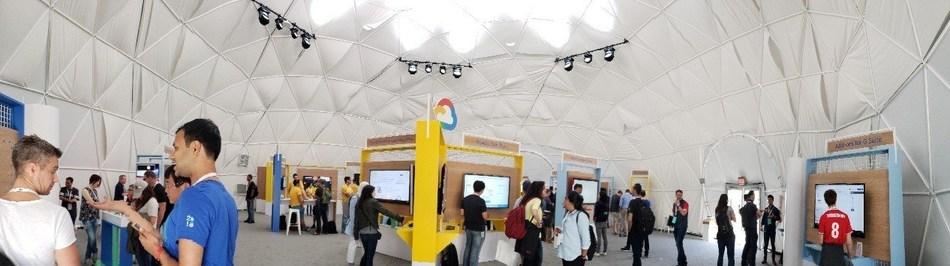 Tent, Google I/O 2018