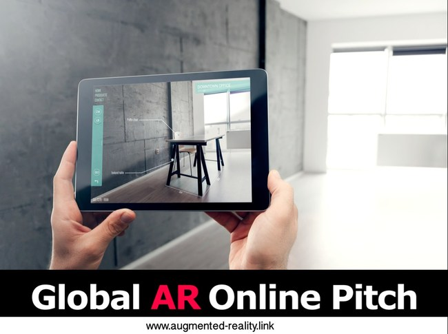 Eight Augmented Reality (AR) Startups Selected to Pitch 30+ Investors in First-Ever Global AR Online Pitch Event. 241 submission were reviewed. The eight finalist represent those companies to watch in AR.