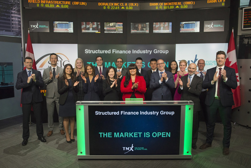 Structured Finance Industry Group Opens the Market (CNW Group/TMX Group Limited)
