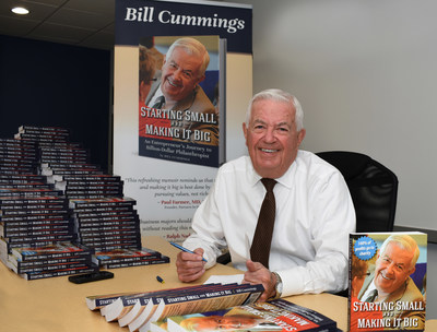 "At 81, entrepreneur and philanthropist Bill Cummings has added ""author"" to his credentials"
