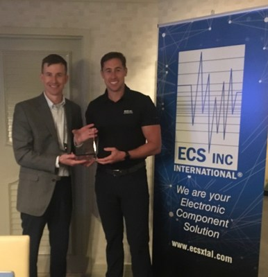 ECS Inc. International Presents Digi-Key with 2017 Top Global Distributor Award