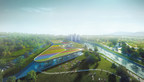 The Canadian Canoe Museum's new facility will be built alongside the Peterborough Lift Lock on the Trent-Severn Waterway, both National Historic Sites, in Peterborough, Ontario. (CNW Group/Canadian Canoe Museum)