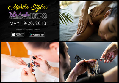MOBILE STYLES IS AT IT AGAIN! CATCH THEM IN ACTION AS THEY DISRUPT THE HEALTH & BEAUTY INDUSTRY BY PROVIDING CONSUMERS ON-DEMAND CARE AND PAMPERING ANYTIME, ANYWHERE