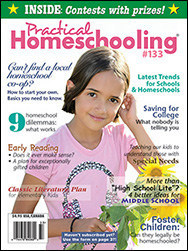 Current issue of Practical Homeschooling